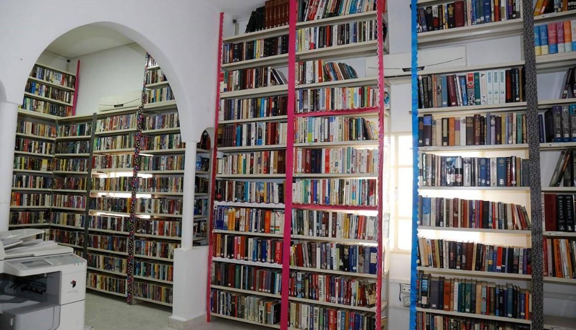 افتتاح مكتبة عامة في بلدية غلبون