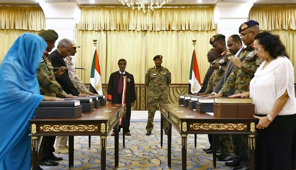 السودان: أعضاء المجلس السيادي يؤدّون اليمين الدستورية
