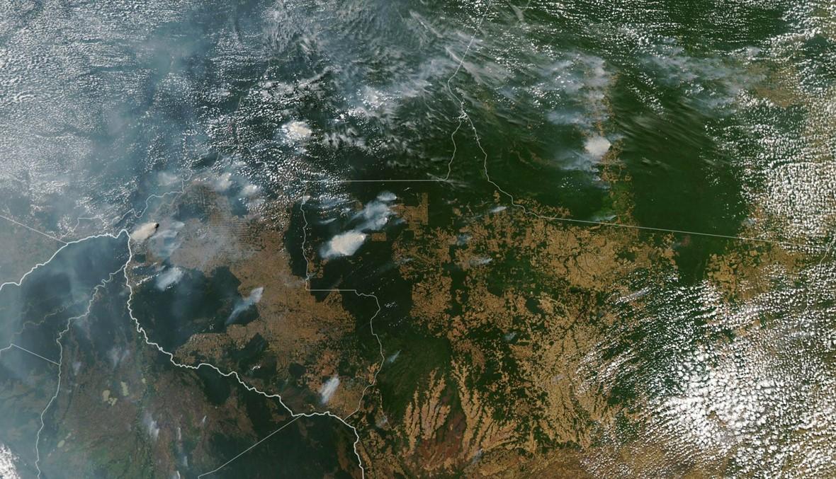 """النّار تلتهم """"رئة العالم""""... حرائق الأمازون تثير انتقادات ضدّ  بولسونارو"""