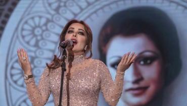تحية على خشبة مهرجانات صيدا الدولية: سارة الهاني تغنّي وردة