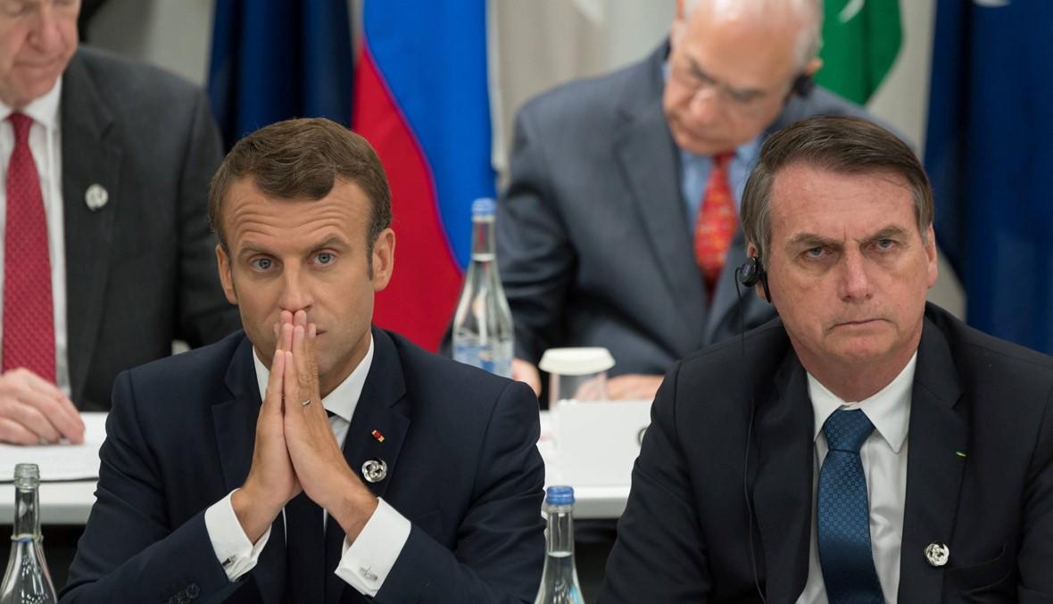 حرب كلاميّة بين بولسونارو وماكرون: رئيس البرازيل ينشر تعليقاً ساخراً من بريجيت