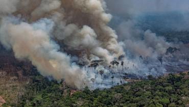تعبئة ضمن مجموعة السبع لاخماد الحرائق في غابات الامازون