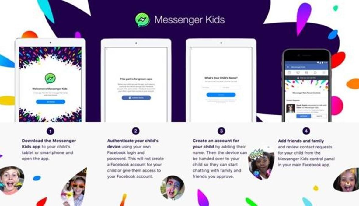 فايسبوك يقرّ بوجود خلل في تطبيقه الموجَّه للأطفال Messenger Kids