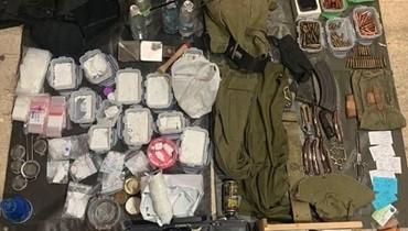 مخدرات واسلحة وأعتدة عسكرية وذخائر حربية بين برج حمود والدكوانة