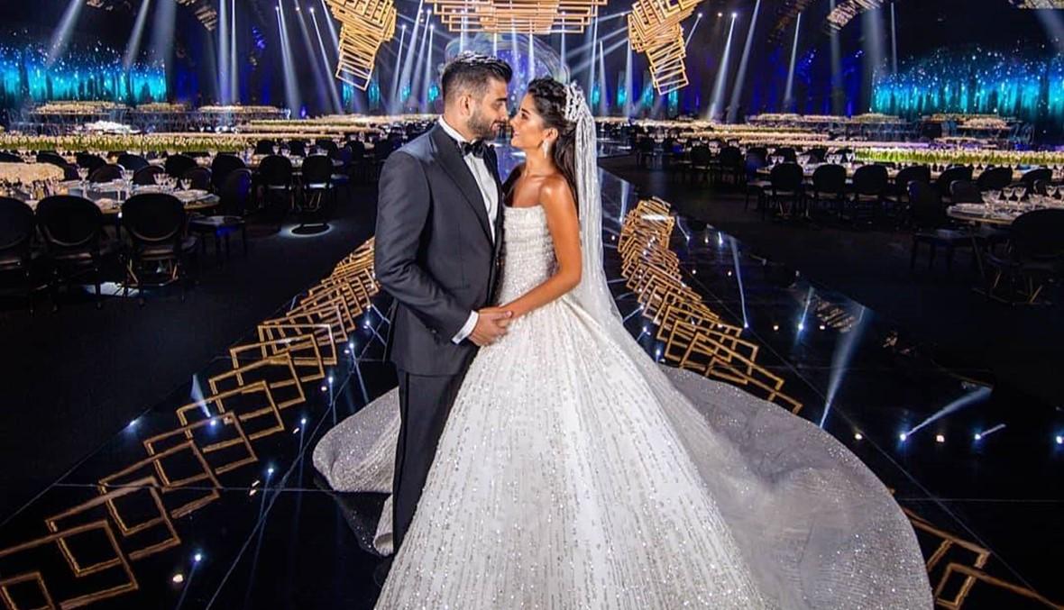 الحريري وشخصيات حضروا الزفاف... ابن اللواء عثمان عريساً في البيال (صور وفيديو)