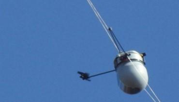 اسرائيل تطلق منطاداً تجسسياً في ميس الجبل