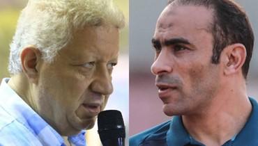 """""""حرب كلامية"""" بين الأهلي والزمالك تشعل الكرة المصرية (فيديو)"""