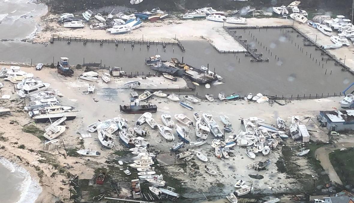 ساعات من الرعب في الباهاماس... الإعصار الضخم يتحرّك نحو أميركا (صور)
