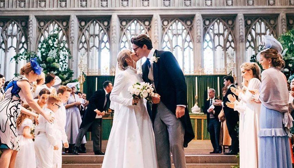 ما الرسالة المؤثرة التي وجهتها  إيلي غولدينغ  الى من شارك في زفافها؟