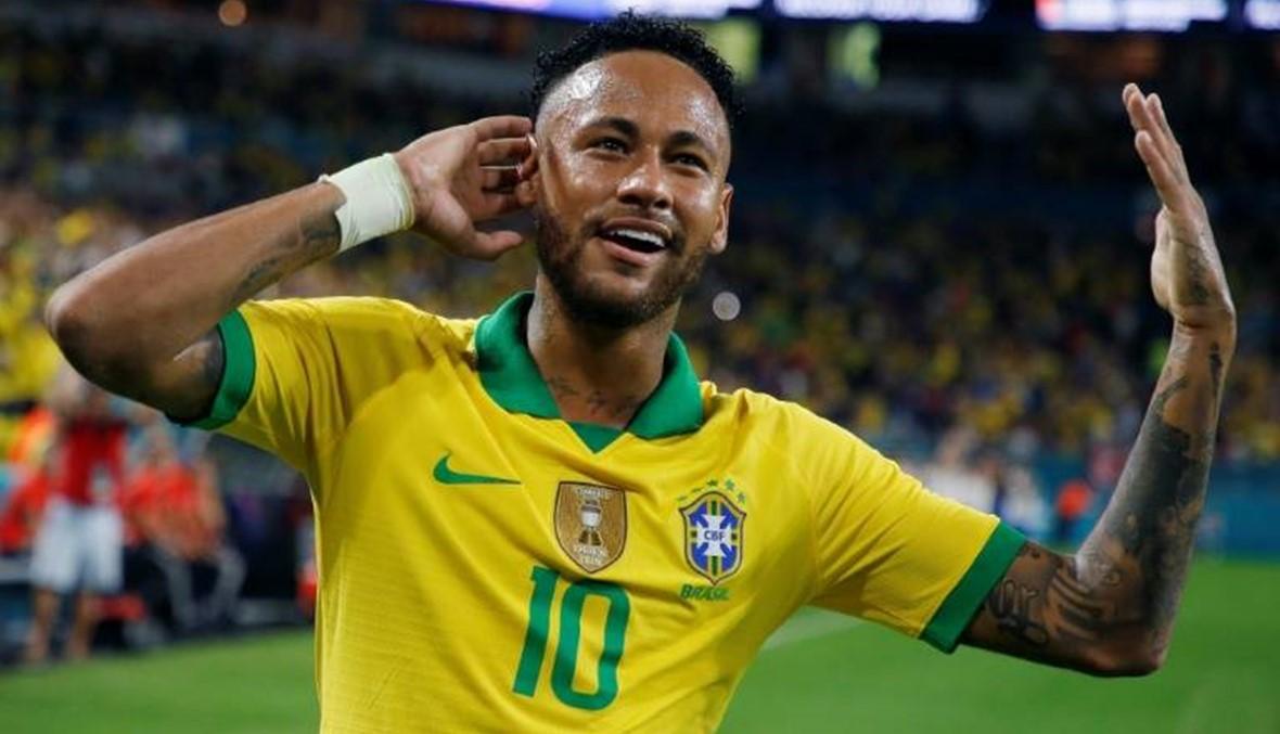 نيمار ينقذ البرازيل من الخسارة
