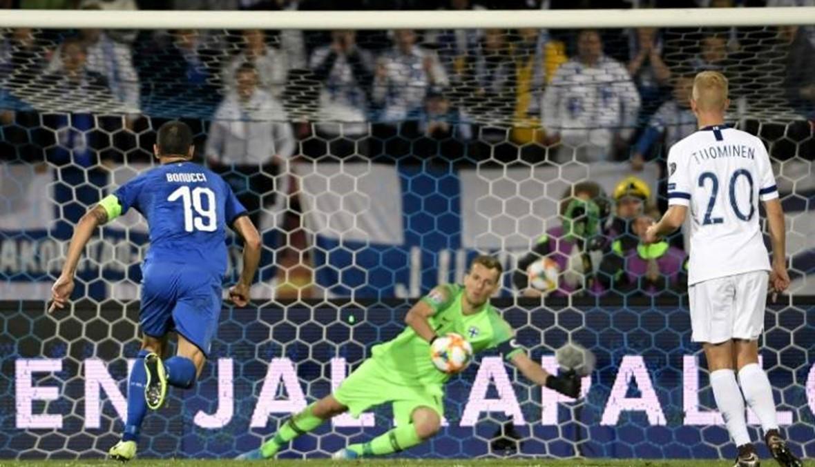 إيطاليا على بُعد 3 نقاط من نهائيات كأس أوروبا