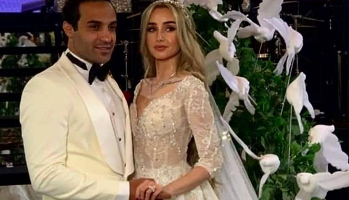 أحمد فهمي وهنا الزاهد يحتفلان بزفافهما بحضور النجوم (فيديو وصور)