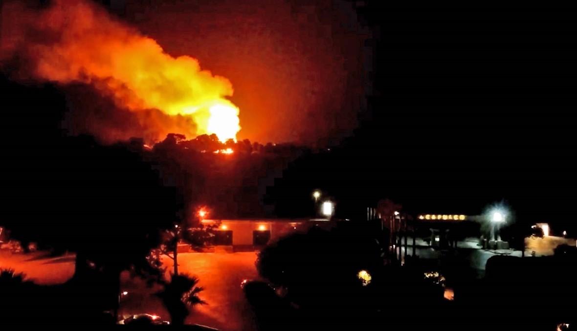 انفجارات في مخزن للجيش التركي شمال قبرص: 12 جريحاً، وهلع بين السكان