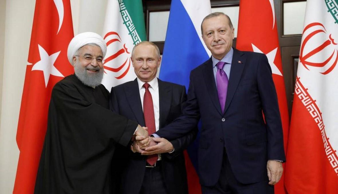 بوتين وروحاني في ضيافة أردوغان لمناقشة الوضع في سوريا