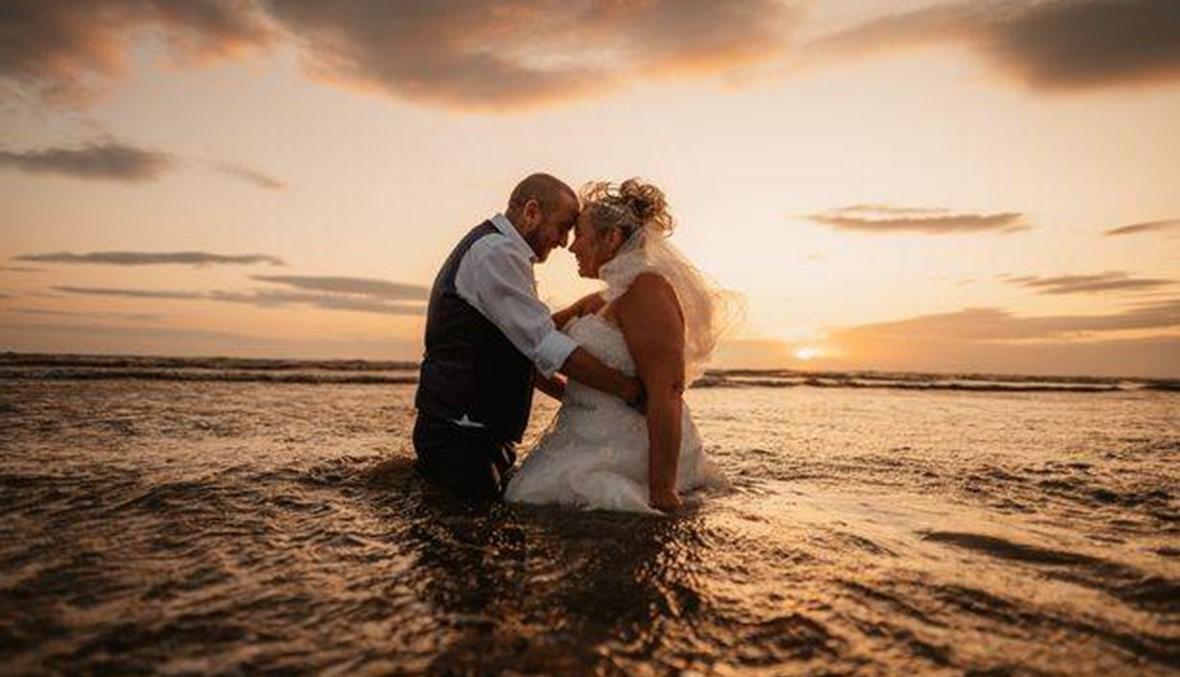 أتلفت فستان زفافها الذي كلّف 1200 دولار لأجل جلسة تصوير رائعة
