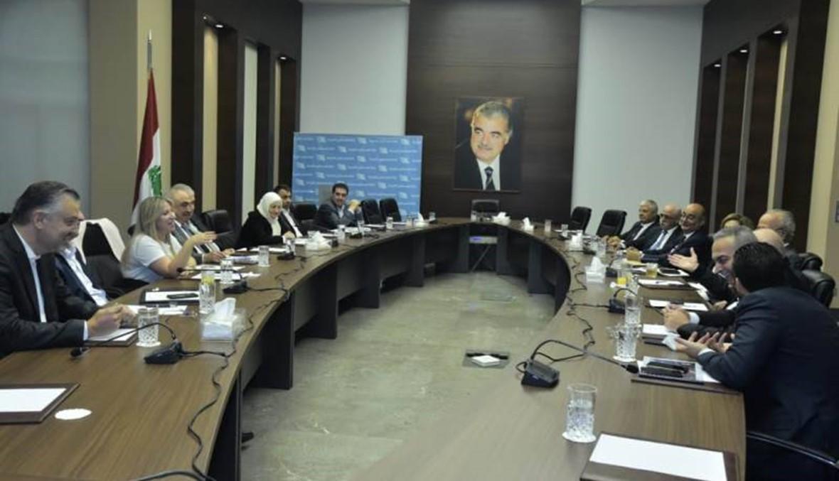 """""""كتلة المستقبل"""": القرار الاتهامي للمحكمة الدولية خطوة متقدّمة في مسار العدالة"""