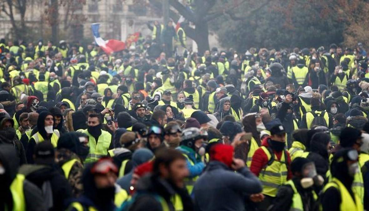 نشر عدد كبير من قوات الأمن في باريس السبت تحسباً لتظاهرات السترات الصفراء