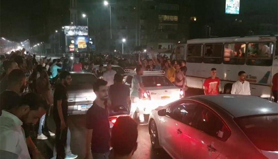 تظاهرات نادرة معارضة للرئيس السيسي في مصر