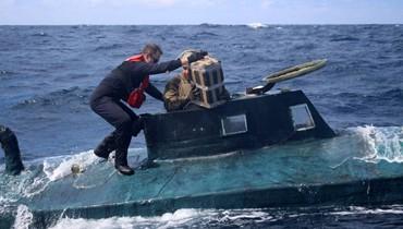 غوّاصة طولها 12 متراً... ضبط 5 أطنان من الكوكايين في المحيط الهادئ