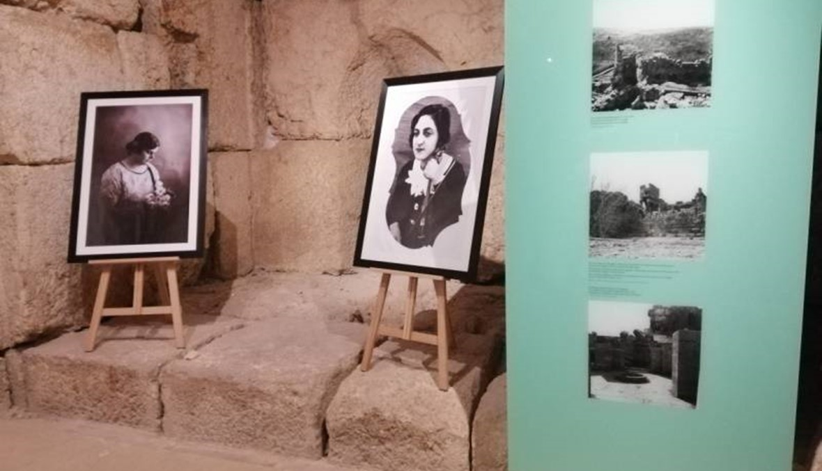 """""""بيروت للصورة"""" افتتح معرض كريمة عبود في متحف قلعة بعلبك: ابنة الخيام أوّل مصوّرة في الشرق الأوسط"""