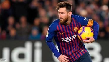 نادي برشلونة يستبدل اسم ليونيل ميسي في قائمة لاعبيه