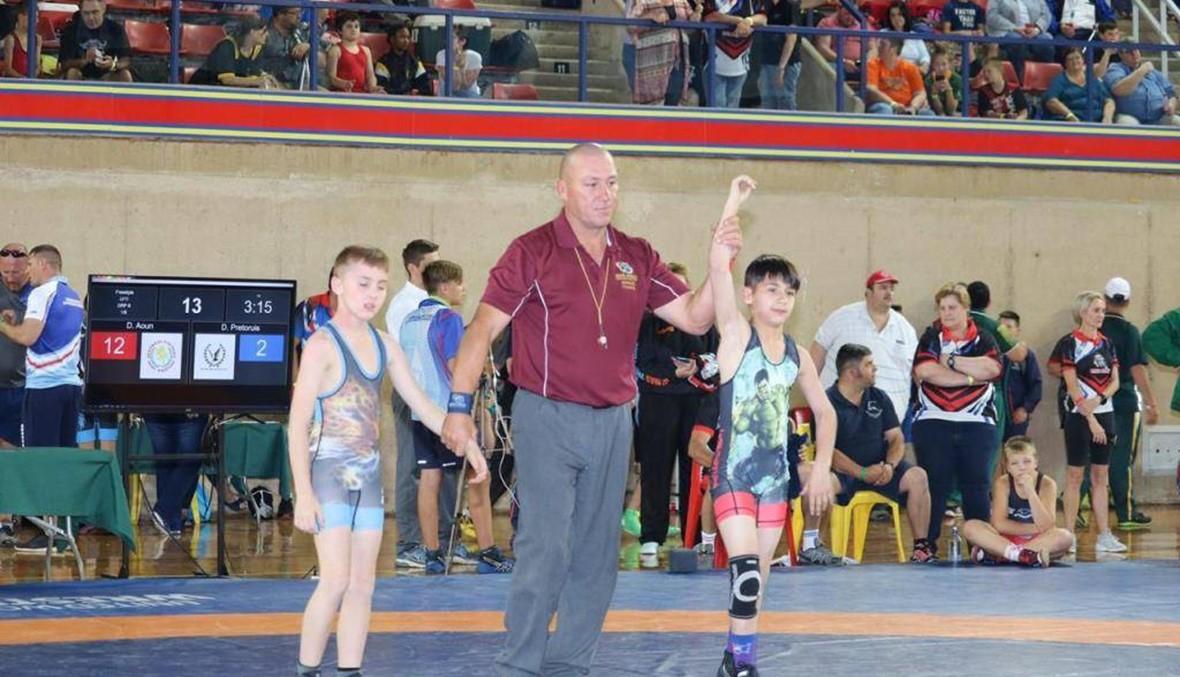 ابن الـ11 عاماً بطل مصارعة في جنوب أفريقيا