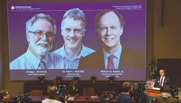 """نوبل الطب 2019 تُمنح لثلاثة باحثين """"أميركيِّيْن وبريطاني"""" والمراهنات تشتعل حول توقعات الفائزين بالآداب والسلام"""
