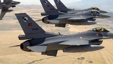 """غارات تركية على مواقع """"العمال الكردستاني"""" في شمال العراق:  مقتل """"12 إرهابياً انفصالياً"""""""