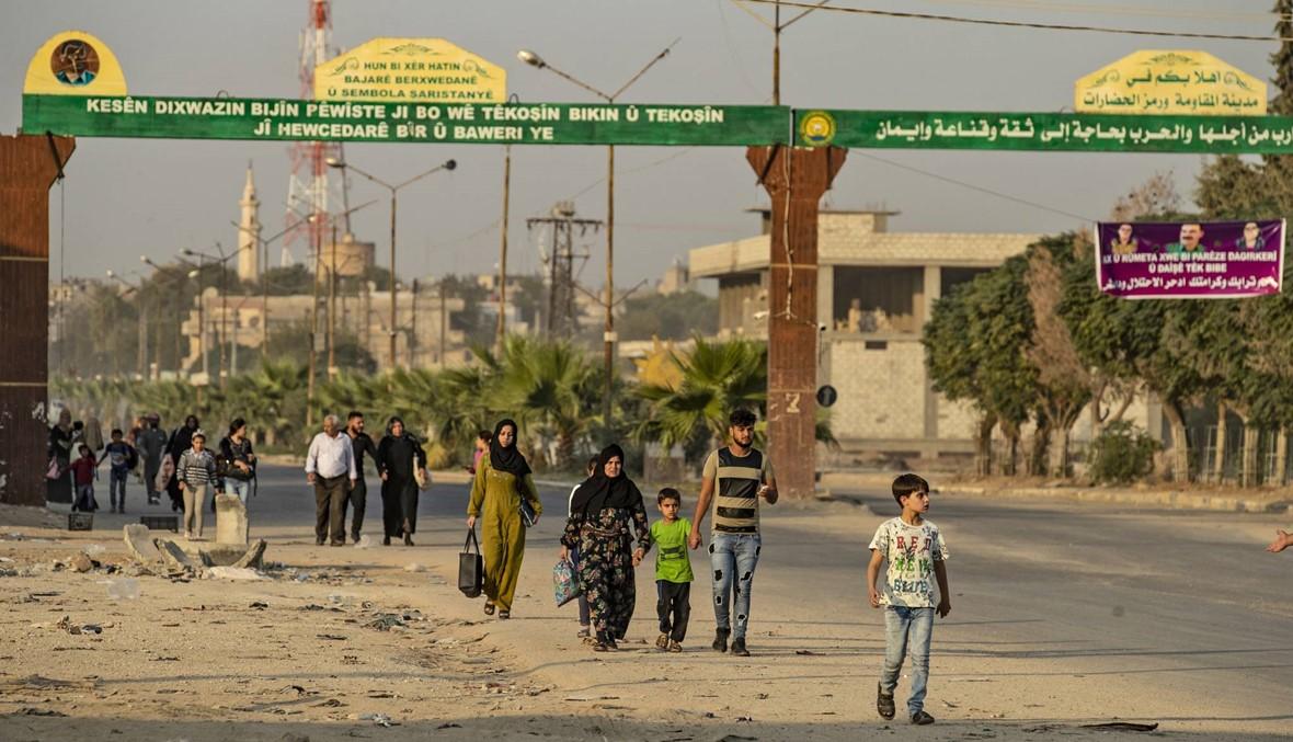 """سوريا: الأكراد يحذّرون من فرار أسرى """"داعش"""" مع اشتداد الهجوم التركي"""