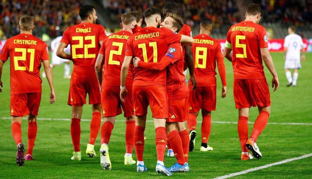 النتائج الكاملة لتصفيات كأس أوروبا 2020... بلجيكا أول المتأهلين