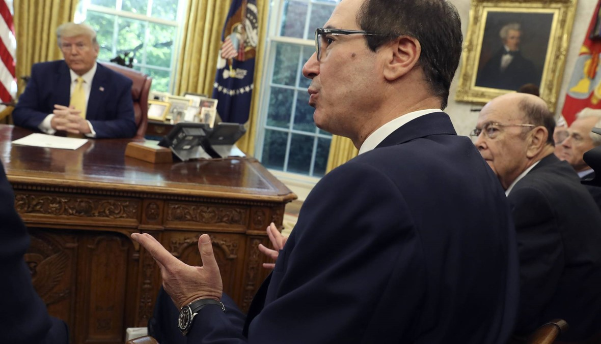 """وزير الخزانة الأميركي: نستطيع """"شل"""" الاقتصاد التركي """"إذا اضطررنا إلى ذلك"""""""