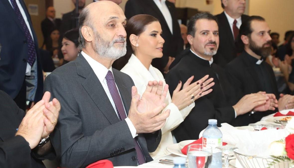 جعجع من ليمنتون: بعض الناس يحاول استغلال الفرص لتعويم الأسد