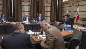 الحريري ترأس جلسة لمجلس الوزراء لمتابعة دراسة مشروع الموازنة