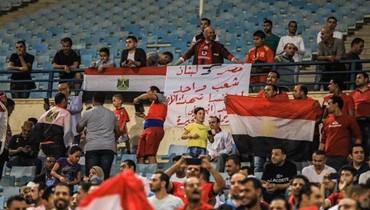 الأهلي المصري يدعم الشعب اللبناني