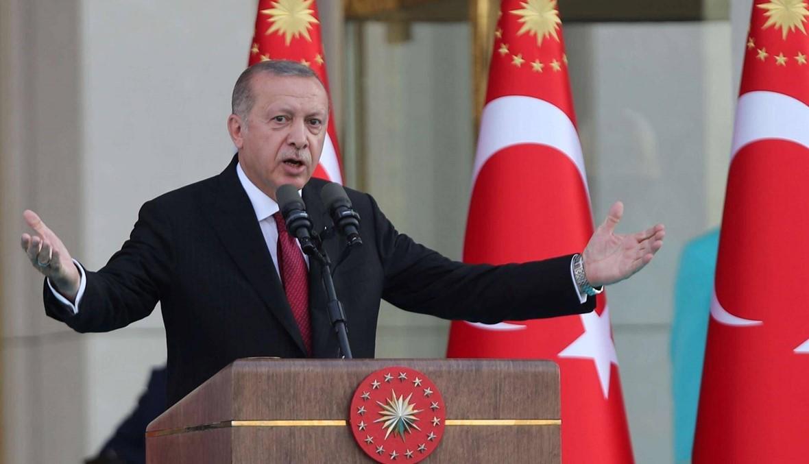 إردوغان يستبعد أي محادثات مع القوات الكردية السورية