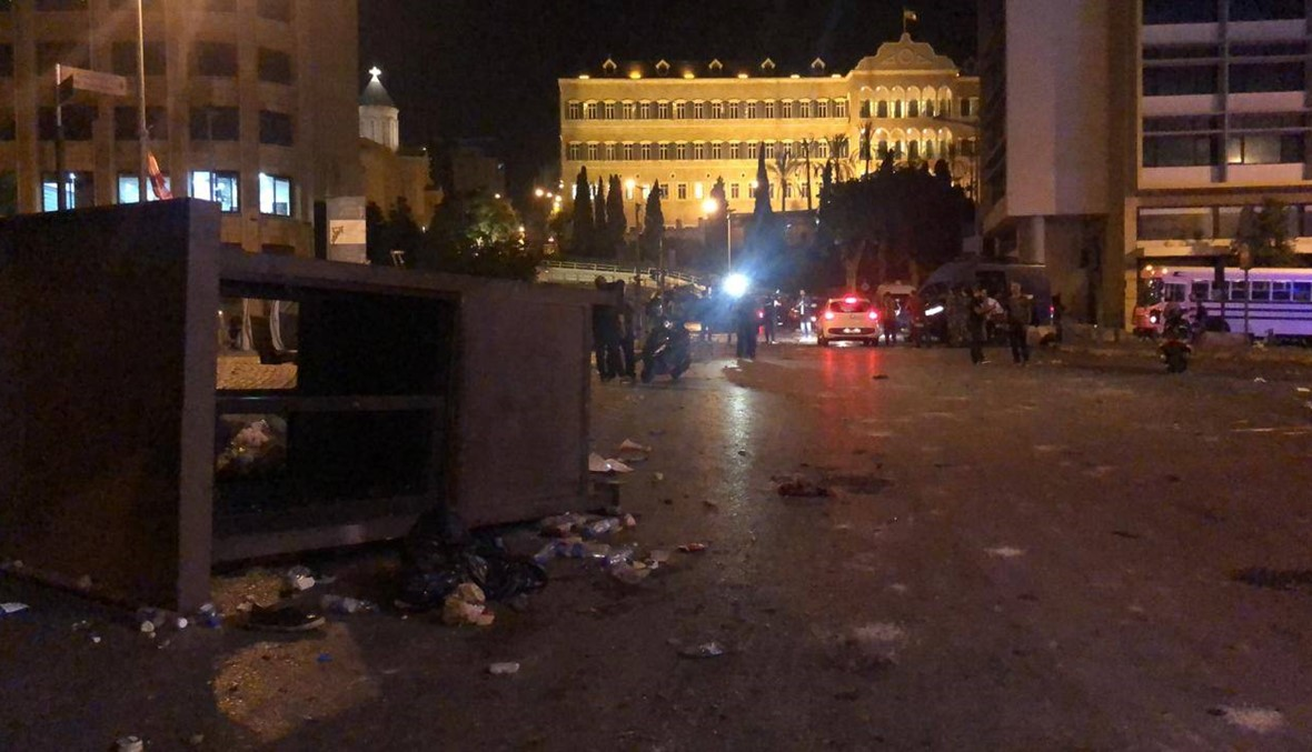 مشهد الاحتجاجات انتهى... الجيش تدخّل والطرق باتت مفتوحة (صور - فيديو)
