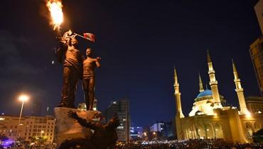 ثورة الشباب اللبناني ضدَّ الجوع والفساد السياسي