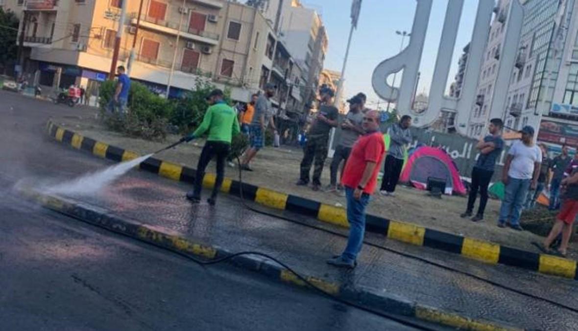 """تظاهرة حاشدة في طرابلس والـ""""دي جاي"""" شاهداً... العرس الوطني يُستكمل شمالاً (فيديو)"""