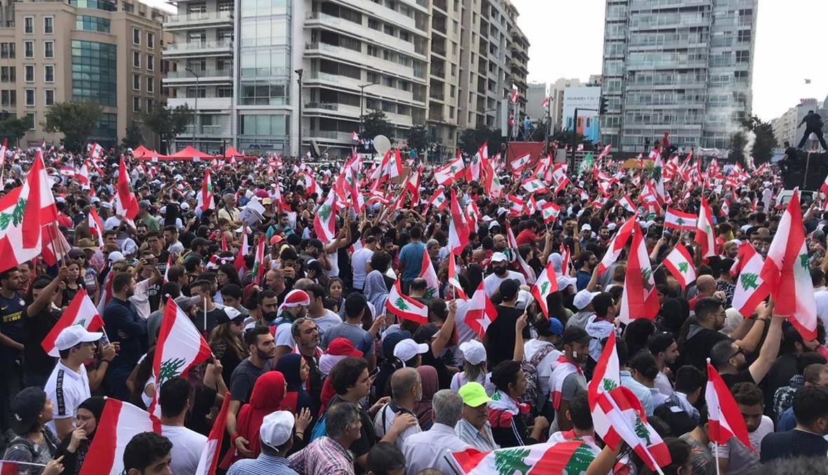 من التظاهرة- بالفيديو: إسعافات أولية وأطباء لمساعدة المتظاهرين