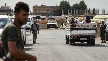 تركيا تعلن انسحاب المقاتلين الأكراد السوريّين من رأس العين