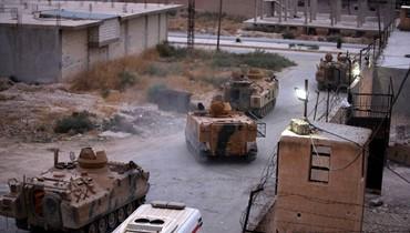 قوّات سوريا الديموقراطيّة تنسحب بشكل كامل من رأس العين الحدوديّة