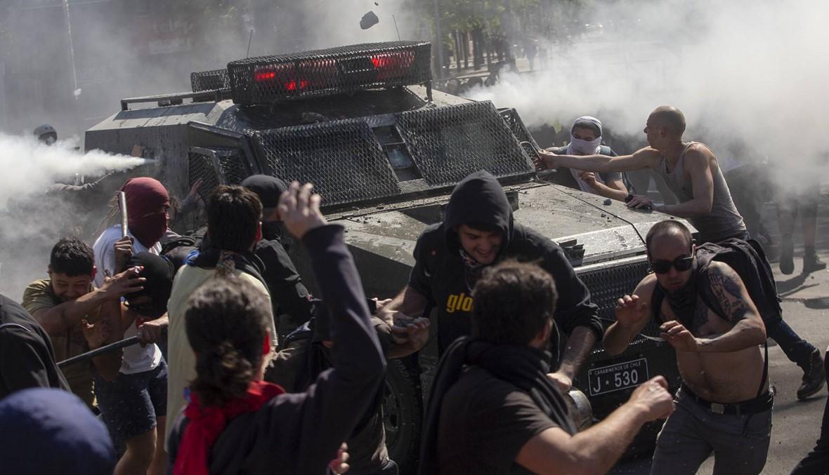 أعمال شغب تهزّ تشيلي: الحكومة توسّع نطاق حال الطوارئ