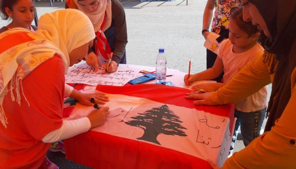 ساحة حراك صيدا متنفّس للاحتجاجات السلمية والنشاطات الثقافية والتوعوية