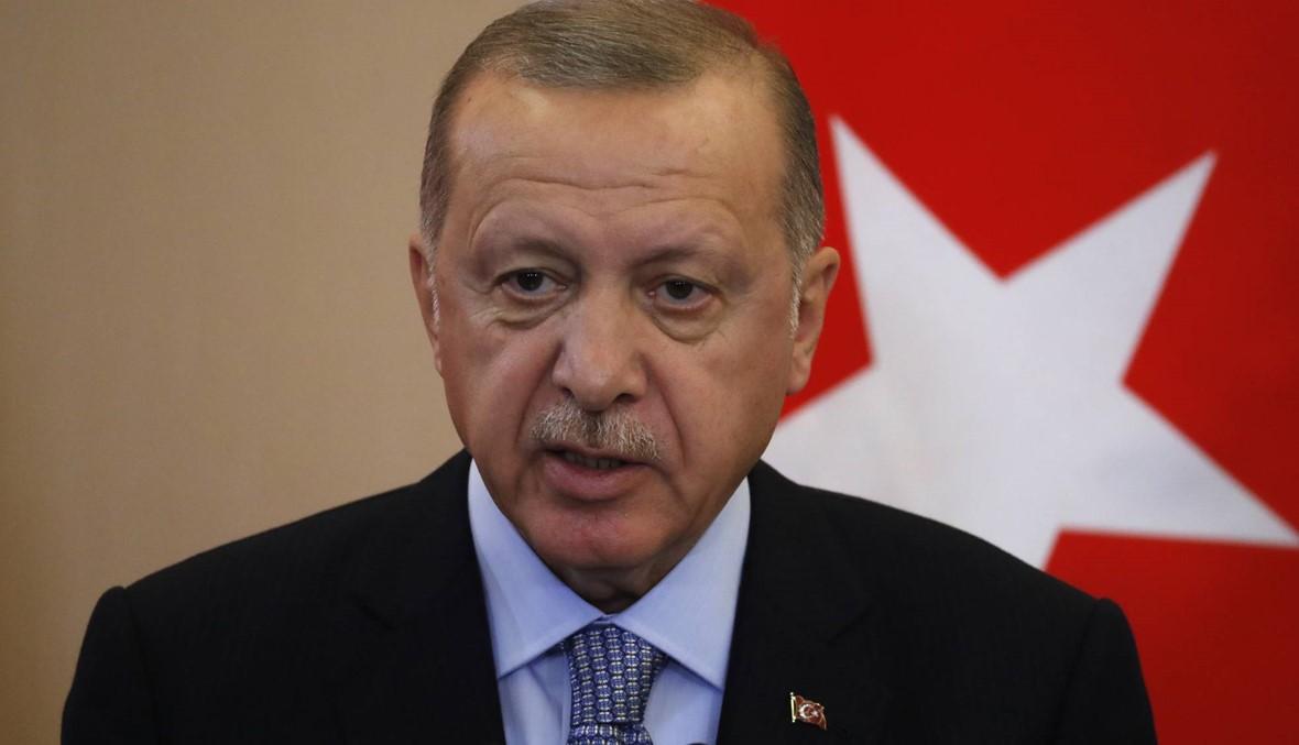 """إردوغان: """"سنطهّر"""" الحدود السوريّة من المقاتلين الأكراد إذا لم تفعل روسيا"""