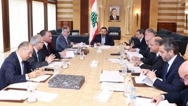 الحريري ترأس اجتماعاً للجنة الوزارية المكلفة دراسة مشروع قانون العفو العام