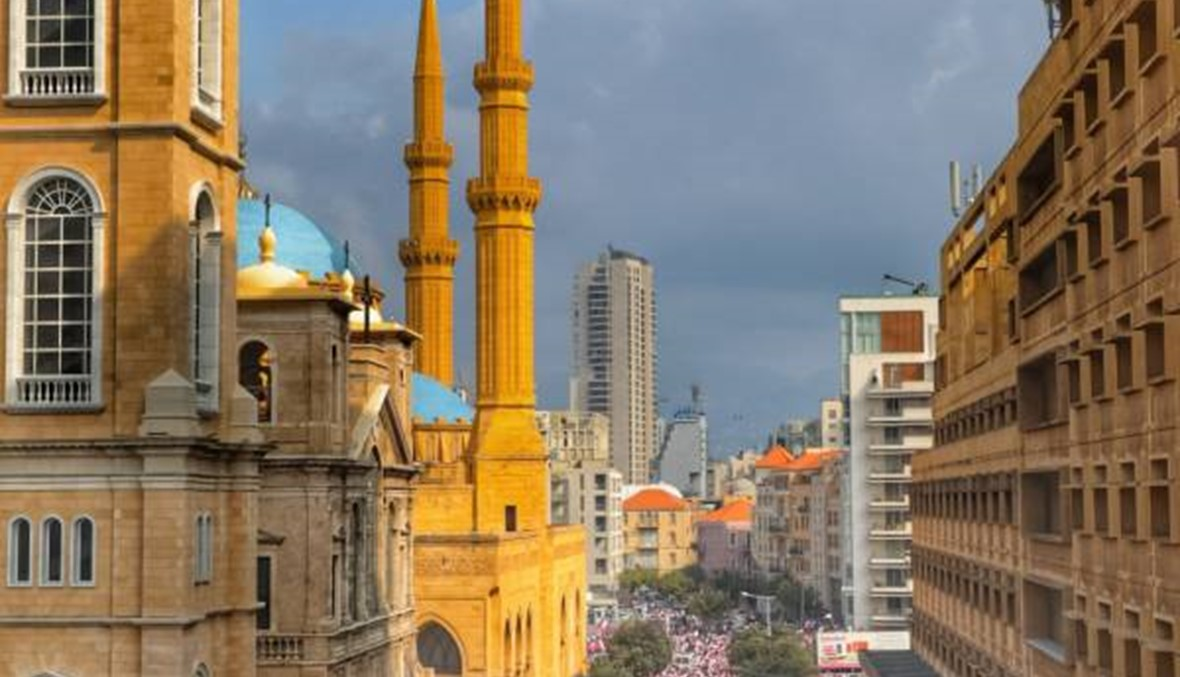 ثوار لبنان بالعدسة... الوعي والوحدة ينقذان لبنان