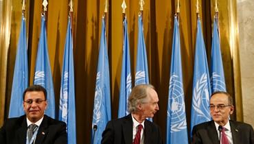 النظام السوري والمعارضة وجهاً لوجه في اللجنة الدستورية