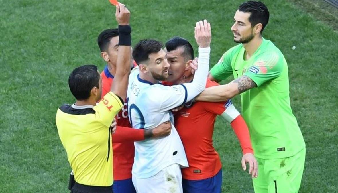 ميسي يقود الأرجنتين أمام البرازيل والأوروغواي