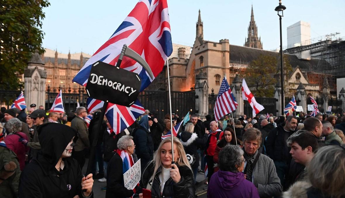 بريطانيا تدافع عن اتفاق بريكست بعد تحذير ترامب بشأن التجارة