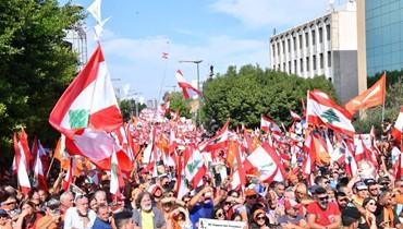 """ماذا يريد """"التيار الوطني الحر"""" بعد حشد شارعه اليوم؟"""